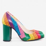 Pantofi piele naturala D53 - orice culoare