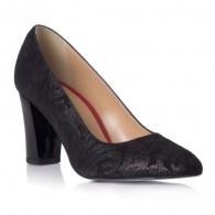 Pantofi Piele Imprimeu Argintiu Melly T7 - orice culoare
