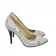 Pantofi Dama D72 Piele Naturala - orice culoare