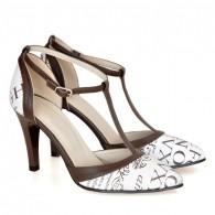 Pantofi Dama D137 Piele Naturala - orice culoare