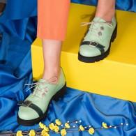 Pantofi Piele Vernil Talpa Joasa  V12  - orice culoare