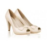 Pantofi mireasa N10 Pearly Bride - orice culoare