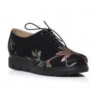 Pantofi Piele Floral Oxford C3 - orice culoare