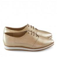 Pantofi Oxford Piele Bronz D2 - orice culoare