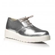 Pantofi piele argintiu Oxford V14 - orice culoare