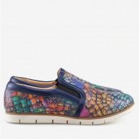 Pantofi dama sport din piele naturala Multicolor Megan D8 - orice culoare