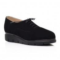 Pantofi piele intoarsa negru Oxford C3 - orice culoare