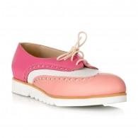Pantofi Tip Oxford Roz/Bej/Alb S2 - orice culoare