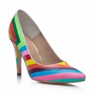 Pantofi Pictati P128 - orice culoare
