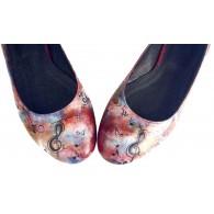 Pantofi Pictati P131 - orice culoare