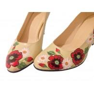 Pantofi Pictati P146 - orice culoare