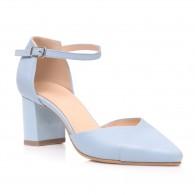 Pantofi Piele Bleu Relax C44 - orice culoare