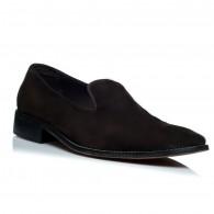 Pantofi piele intoarsa barbati mocasini C1