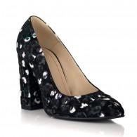 Pantofi Dama Piele Anais Multicolor V40 - orice culoare