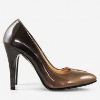 Pantofi Stiletto Piele Lacuita Degrade D21 - orice culoare