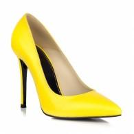 Pantofi Stiletto Galben L18 - orice culoare