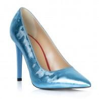 Pantofi Stiletto Piele Bleu Taisia T18 - orice culoare