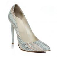 Pantofi Stiletto Imprimeu Dungi C1  - orice culoare