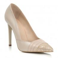 Pantofi Stiletto Piele Nude Amelia S8  - orice culoare