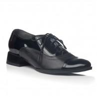 Pantofi Oxford Office piele negru V19 - orice culoare
