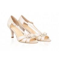 Pantofi Piele Mireasa P46 - orice culoare