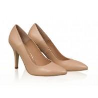 Pantofi stiletto piele nude N8 - orice  culoare
