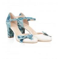 Pantofi din piele naturala N45 - orice culoare