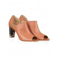 Pantofi din piele naturala N75 - orice culoare