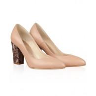 Pantofi din piele naturala N80 - orice culoare