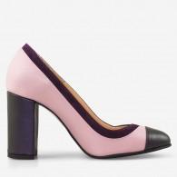 Pantofi dama din piele naturala D46 - orice culoare