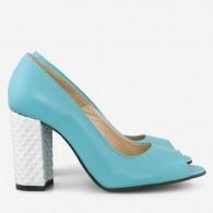 Pantofi dama din piele naturala D51 - orice culoare