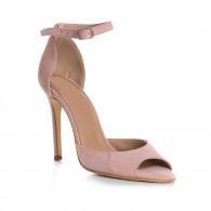 Sandale Elegante Piele Intoarsa Nude L4 - orice culoare