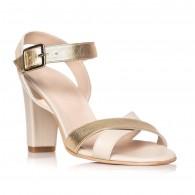 Sandale dama piele auriu Odette S8 - Orice culoare
