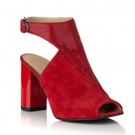 Sandale Piele Intoarsa Rosie Elisa C10 - orice culoare