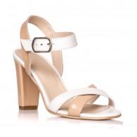 Sandale dama piele lacuita Odette Duo S8 - Orice culoare