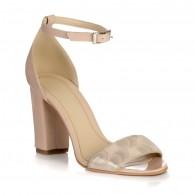 Sandale Piele Nude Model Stylish  - orice culoare