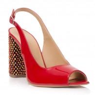 Sandale Piele Lacuita Rosu Callia T7 - orice culoare