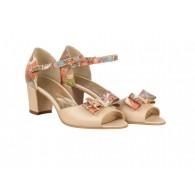 Sandale piele nude/color Zenit N41 - orice culoare