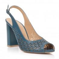 Sandale Dama Piele Albastru Perforat Callia T7 - orice culoare