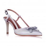 Sandale Dama Piele Serena Argintiu C8 - orice culoare