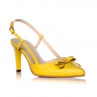 Sandale Dama Piele Serena Galben C8 - orice culoare
