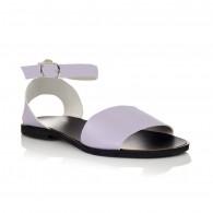 Sandale dama piele lila Mary- orice culoare
