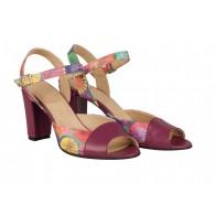 Sandale Piele Mov Color Melina N44 - orice culoare