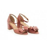 Sandale Dama Piele Blush Dalia N47 - orice culoare