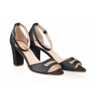 Sandale Dama Piele Bleumarin Stefi N26 - orice culoare