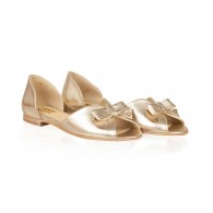 Sandale Talpa Joasa Piele Auriu Lola N11 - orice culoare