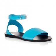 Sandale dama piele bleu Mary- orice culoare