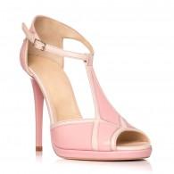 Sandale dama piele lacuita Eva S4 - Orice culoare