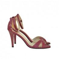 Sandale dama piele DM23 Marsala - Orice culoare