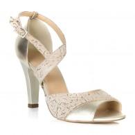 Sandale Piele Auriu Light Calista T1  - orice culoare